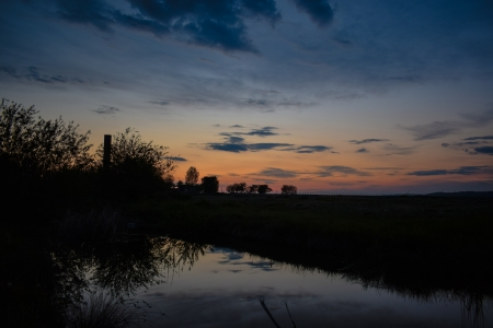Natural Sunset - Romanian sunset, Romania, Sunset, Natural