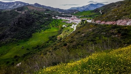 Sierra de M�laga (Spain) - quiet, Contrast, aroma, light