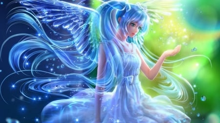 Angel - Princess, Beauty, Angel, Anime