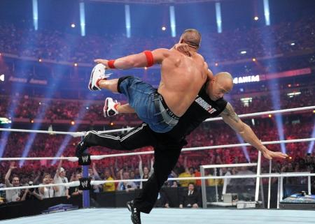 The Rock Vs John Cena Tv Series Entertainment Background