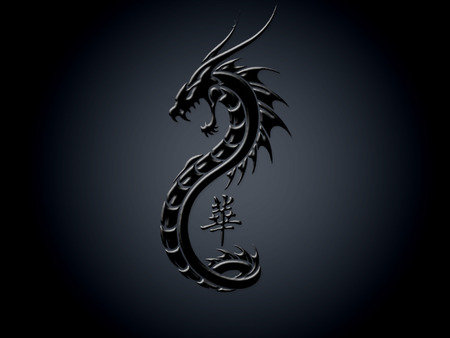 Dark Dragon - 3D and CG & Abstract Background Wallpapers ...