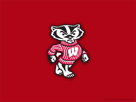 wisconsin logo football sports background wallpapers