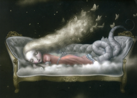 Sleeping Beauty Fantasy Abstract Background Wallpapers
