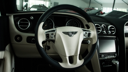 Bentley - car, Bentley, interior, auto, luxury
