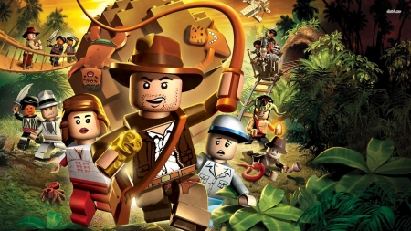 lego indiana jones the original adventures - indiana, jones, adventure, lego