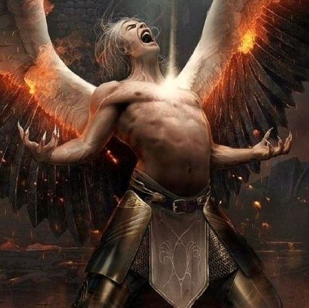Dark Angel 3d And Cg Abstract Background Wallpapers On