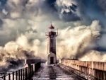 Lighthouse in Bad Weather F2Cmp