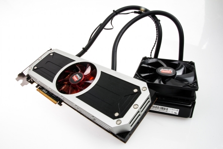 AMD Radeon R9 295X2 - cooling system, 295X2, PC, mechanics, custom, technology, parts, R9, AMD, Radeon, electronics