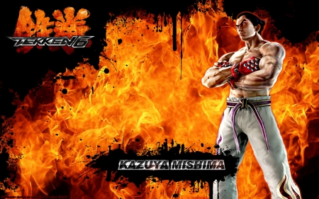 Tekken 6 - fighting, gaming, video game, game, Tekken 6, Kazuya Mishima, Tekken