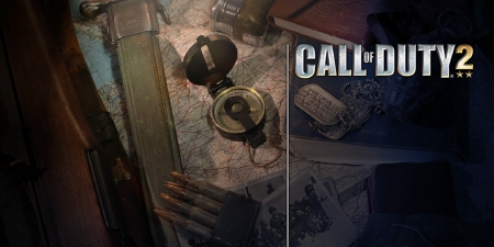 Call Of Duty II - WW2, video game, game, Call Of Duty II, Call Of Duty, gaming, COD, Call Of Duty 2, 2005, WWII