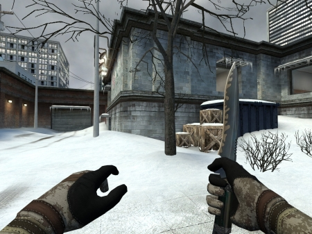 Counter Strike: Source - Office Map, video game, game, CS Source, Source, gaming, snow, CS, Counter Strike