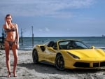 Ferrari 488 Spider and Bikini Model