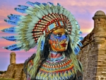 Native American Bodypaint