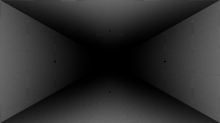 Depth - Abstract - depth, black, hallway, white, abstract