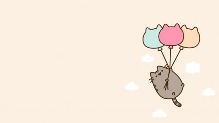 Pusheen Cats Animals Background Wallpapers On Desktop Nexus Image 2128356