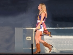 Cowgirl Carrie On Stage..