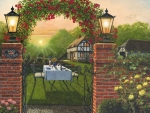 Dinner for Two at Rose Cottage