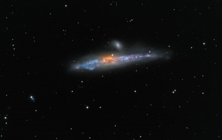 NGC 4631 The Whale Galaxy - stars, cool, space, fun, galaxy