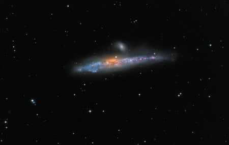 NGC 4631 The Whale Galaxy - stars, fun, cool, galaxy, space