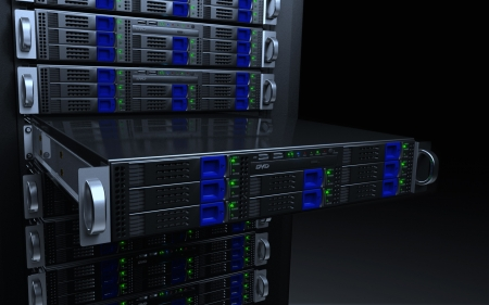 Server Rack & Stack - Server Rack, Data Center, Tech, IT, Data Room, Servers, electronics