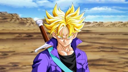 DBZ - Super Saiyan Trunks - TV Series & Entertainment ...