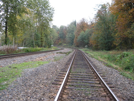Way of Life - autumn, railway