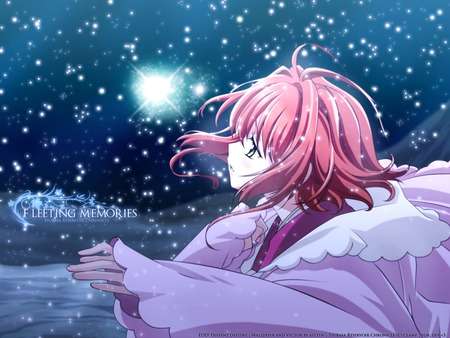 Save Me - girl, snow, anime, tsubasa, other