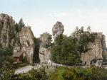 Externsteine - Anno 1900