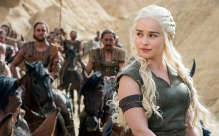 Emilia Clarke - 2016, Clarke, shows, game, of thrones, tv, Emilia, blood