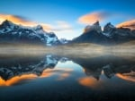 The Andes Mountains,South America