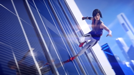 Why We Run - games, Mirrors Edge Catalyst, Mirrors Edge, parkour, Faith Connors, Faith