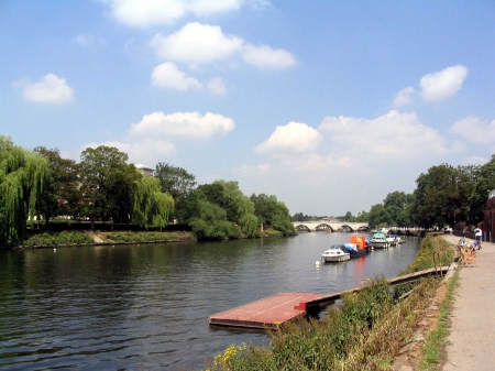 Richmond England - England, Richmond, antti kinnunen, river, 2006