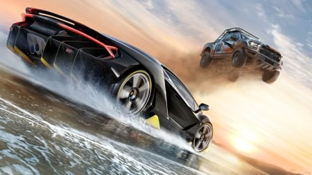 Forza Horizon 3 - games, forza, video game, game, xbox one, video games, microsoft, forza horizon, wallpaper, ford, ford raptor, australia, forza horizon 3, windows 10, open world, lamborghini, lamborghini centenario