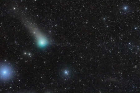 Comet PanSTARRS in the Southern Fish - stars, fun, cool, galaxy, space, comet