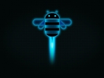 Android Blue Bee