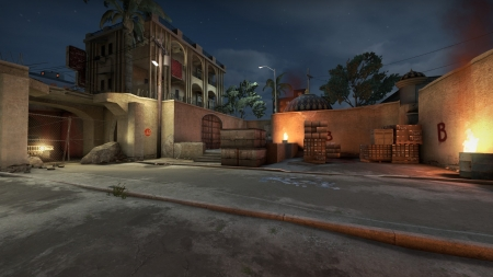 Counter Strike - Global Offensive - Video Game, Dust II Map, Global Offensive, Map, Counter Strike, Dust