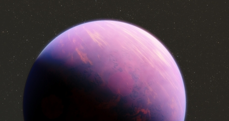 Purple Planet - Planet, Astronomy, Planets, Space