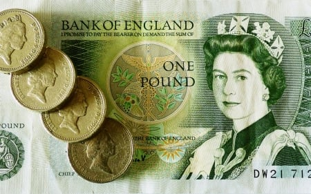 One Pound - money, One Pound, note, currency, paper