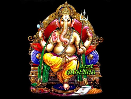 Lord Ganesha - cool, god