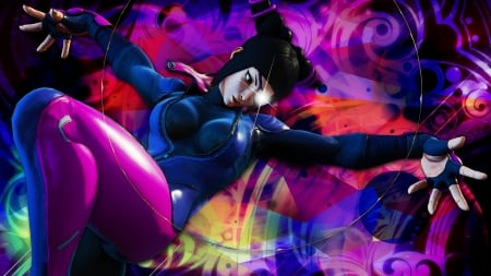Juri Sfv Street Fighter Video Games Background Wallpapers On