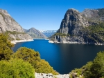 Beautiful View of Hetch Hetchy Reservoir