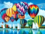 Hot Air Balloons F1