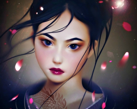 Princess Mulan Fantasy Abstract Background Wallpapers On Desktop