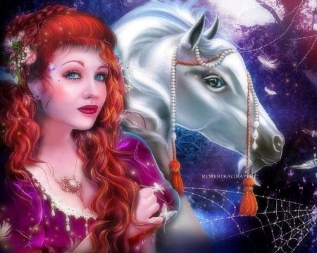 ~Enchanted Princess ~ - Fantasy & Abstract Background ... - photo#45