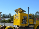 Wentworth Truck Bright Yellow Airbrushed Marilyn Monroe