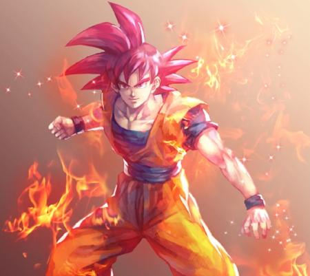 Saiyan God Dragonball Anime Background Wallpapers On