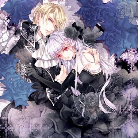 Other anime background wallpapers on desktop nexus - Dark anime couples ...