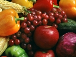 Colourful Fruits and Vegetables