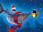 shark and fish christmas