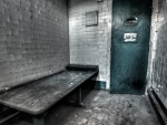 abandoned prison cell hdr